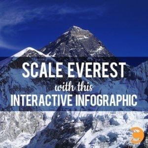 Scale Everest with This Interactive Infographic