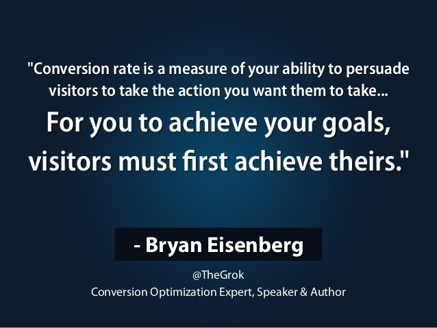 Bryan Eisenberg quote