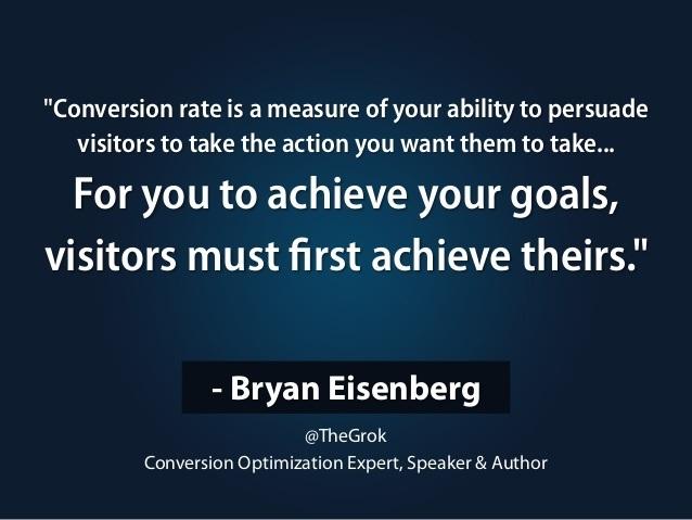 Bryan Eisenberg quote