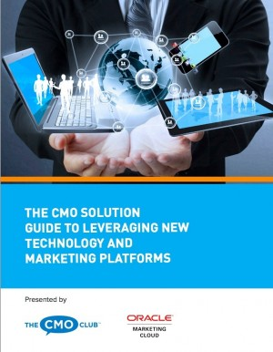 New ebook from Oracle Marketing Cloud and The CMO Club