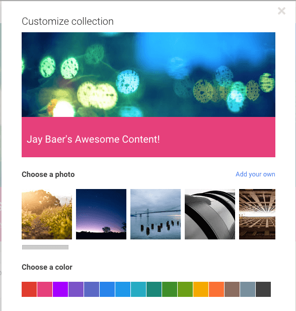 Google plus collections 3