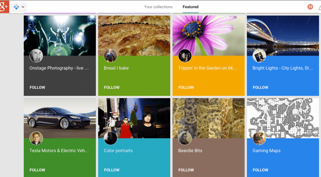 Google plus collections 6