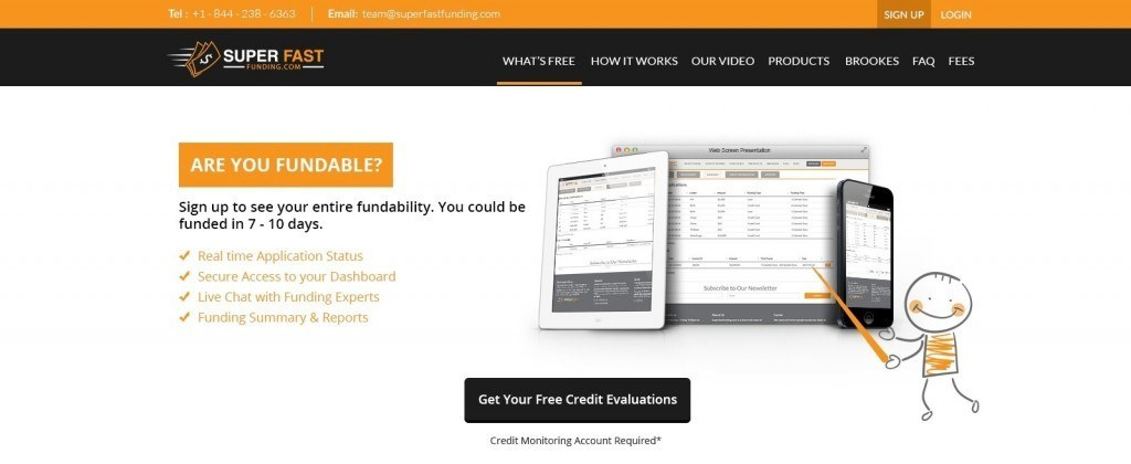 Super Fast Funding