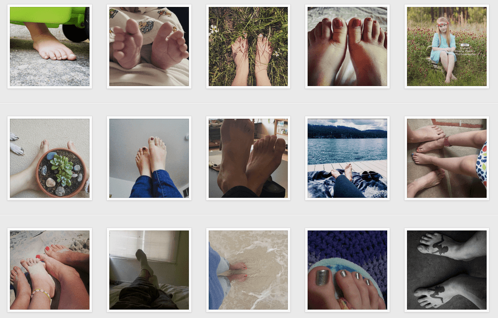TOMS withoutshoes Instagram campaign