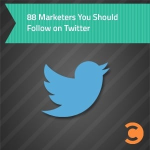 88 Marketers You Should Follow on Twitter