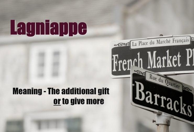 lagniappe defined