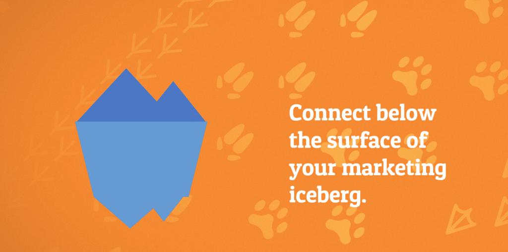 marketing iceberg