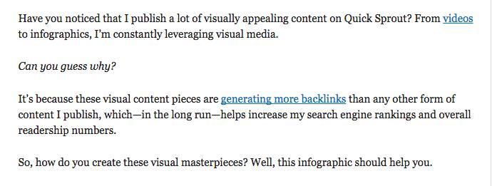 visual content keywords