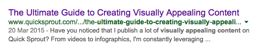 visual content seo