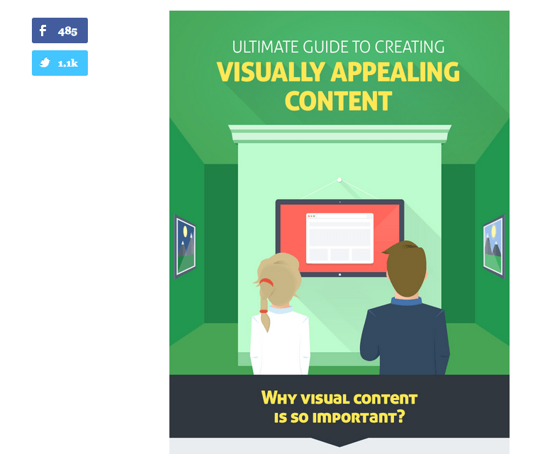 visual content sharing