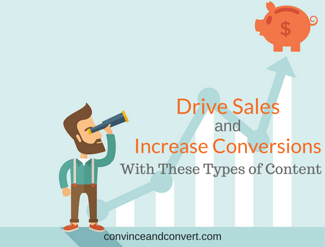 Drive Sales and Increase Conversions with These Types of Content