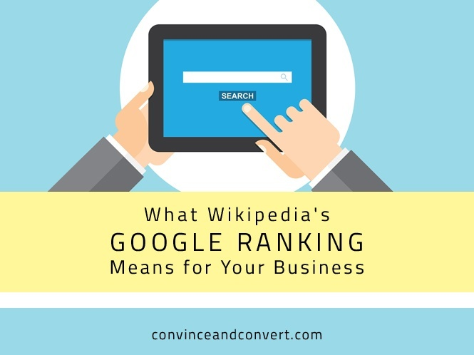 What Wikipedia's Google Ranking Means for Your Business