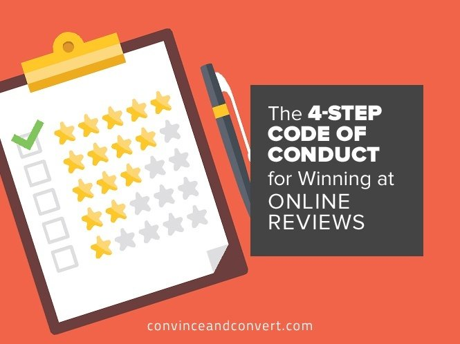 The 4-Step Code of Conduct for Winning at Online Reviews