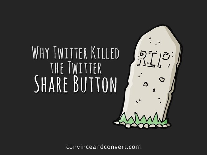 Why Twitter Killed the Twitter Share Button
