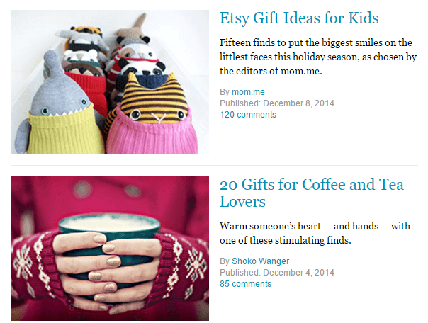 influencer gift guides