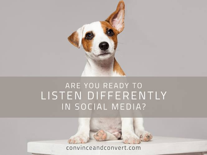 Are You Ready to Listen Differently in Social Media