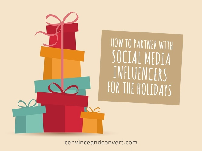 How to Partner With Social Media Influencers for the Holidays