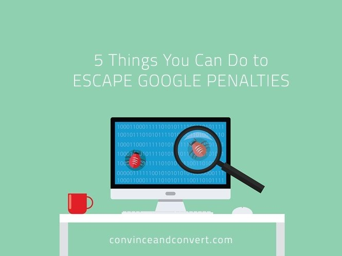 5 Things You Can Do to Escape Google Penalties