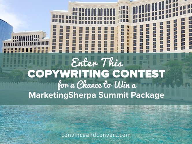 Enter This Copywriting Contest for a Chance to Win