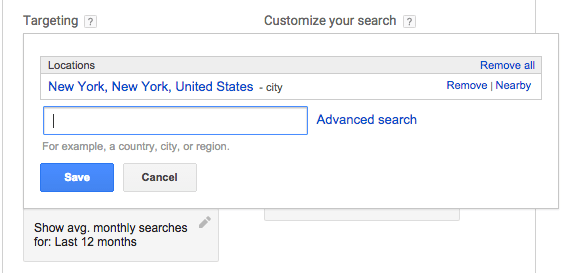 Google AdWords for local search 3