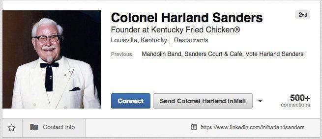 KFC on LinkedIn