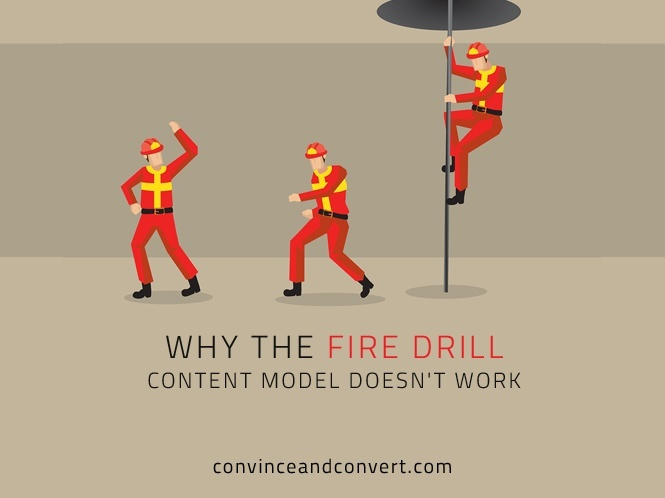 Why the Fire Drill Content Model Doesn't Work