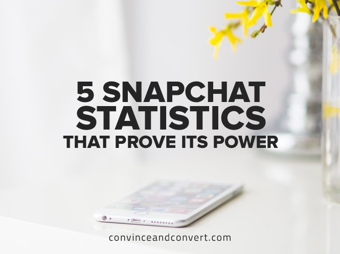 5 Snapchat Statistics That Prove Its Power