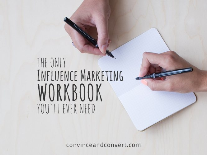 The Only Influence Marketing Workbook You'll Ever Need