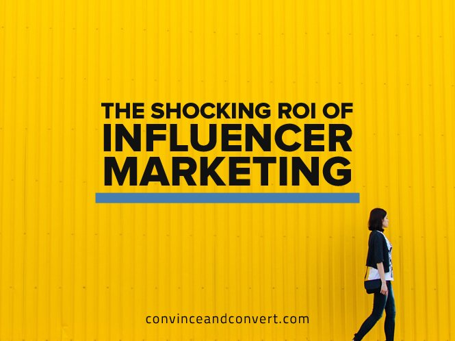 The Shocking ROI of Influencer Marketing