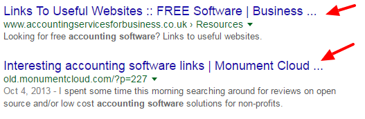 google-search-intitle-links