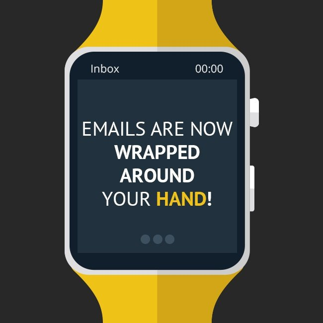 Email for wearables