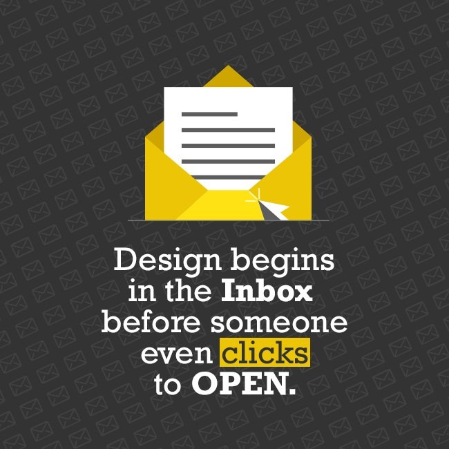design begins in the inbox