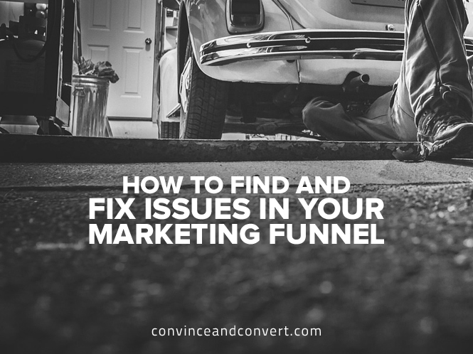 How to Find and Fix Issues in Your Marketing Funnel