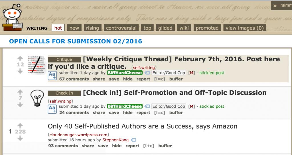 Reddit for content ideas