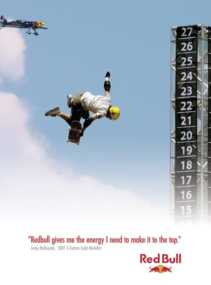 Red Bull ad