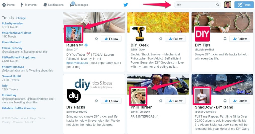 influencer-marketing-twitter-search