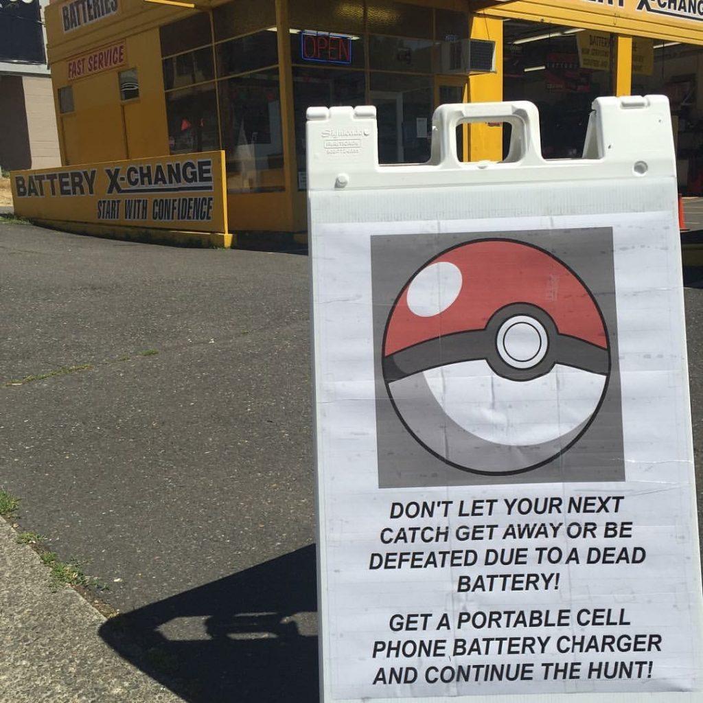 pokemon go battery promotion