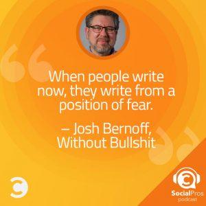 Josh Bernoff - Instagram