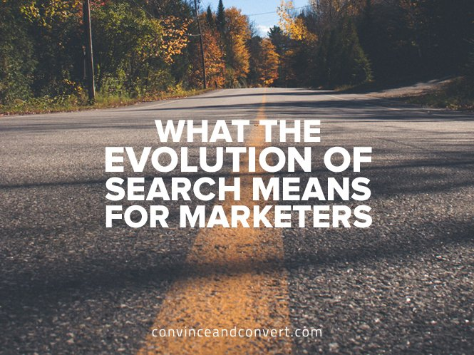 What the Evolution of Search Means for Marketers