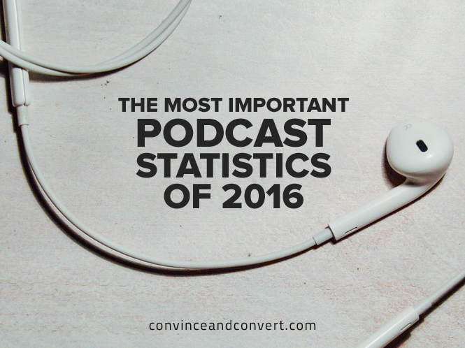 The Most Important Podcast Statistics of 2016