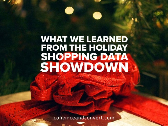 what we learned from the holiday shopping-data showdown