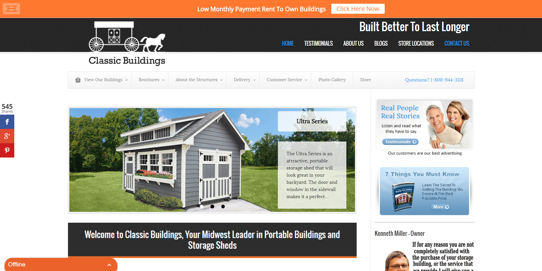home page AB testing