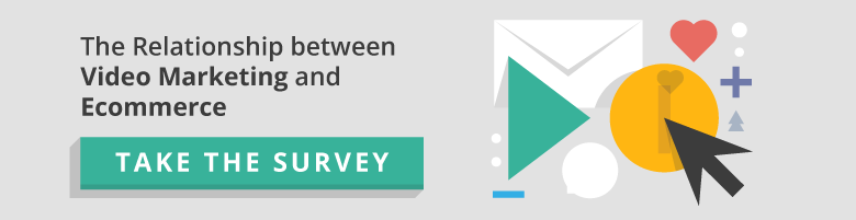 Take a survey on video marketing and ecommerce
