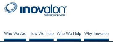 Inovalon nav bar