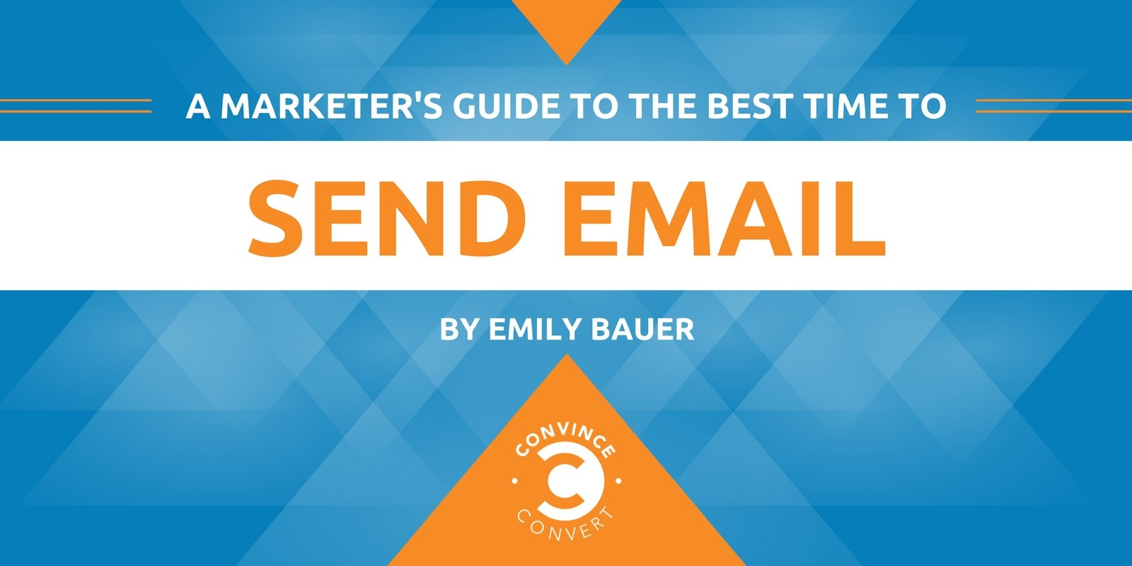 A Marketer's Guide to the Best Time to Send Email