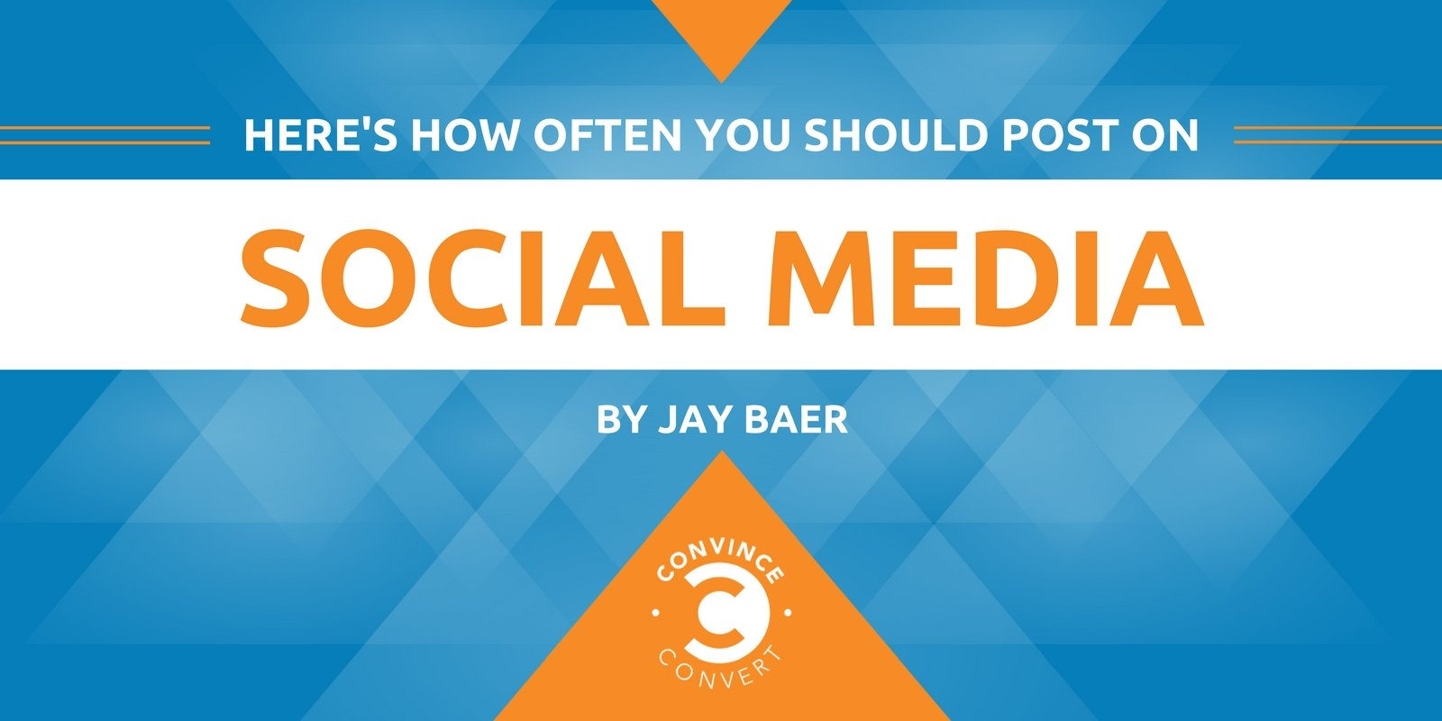 Here's How Often You Should Post on Social Media