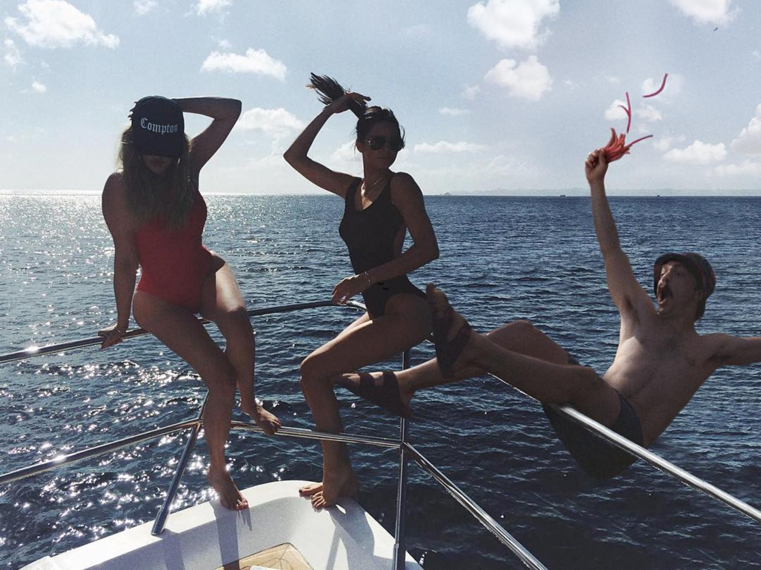 Kirby Jenner Photoshopped into Kendall Jenner Instagram post