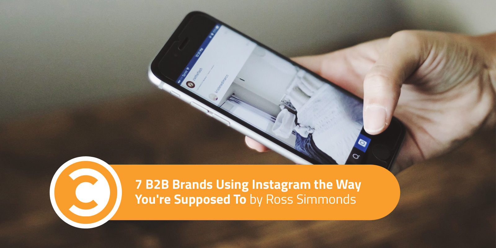 7 B2B Brands Using Instagram the Way You're Supposed To
