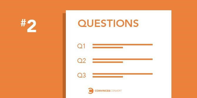 Craft your questions