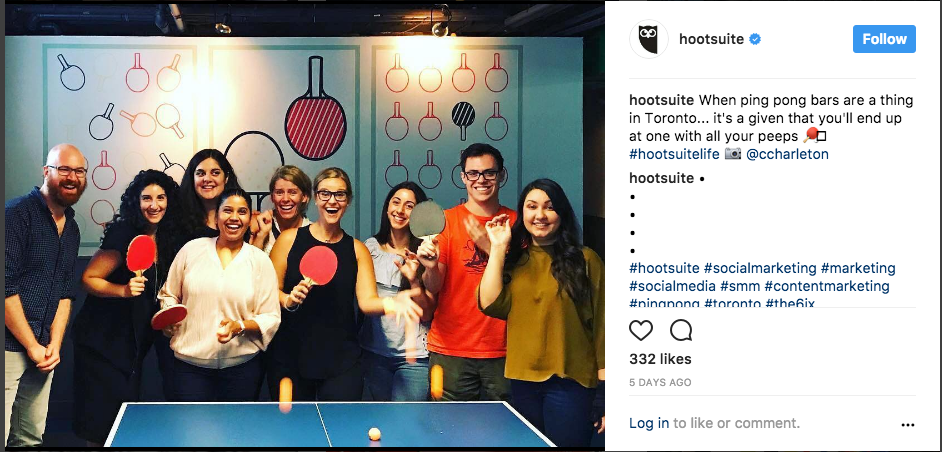 Hootsuite shows off sales reps